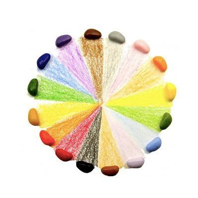 Crayon Rocks (20 stuks) geruit zakje